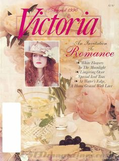 Victoria - Aug 1990 the issue that introduced me to Tasha...and I read it a hundreds of times over!  This issue contains an article that sparked my love of all things Tasha Tudor.