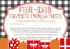 { the tichenor family. }: Fall-iday Favorite Things Party