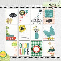 Open Window Journal Cards