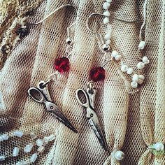 Shears n Blood by gigideluxe on Etsy, $25.00