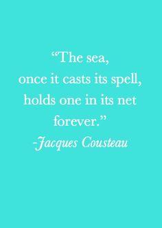 Magic of the sea.