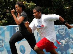 Michelel Obama-one of the fittest first lady.