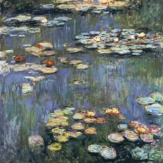 Claude Monet - Water Lilies Giverny #4