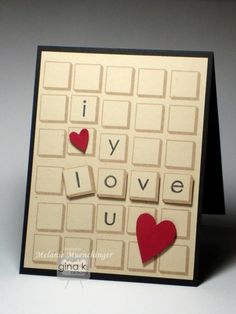 Lots of Letters-Tile Love You Forever