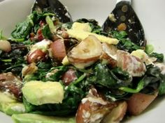 Healthy Recipe - Spinach & Chard Salad with Baby Reds