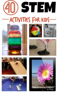 40 STEM Activities for younger kids