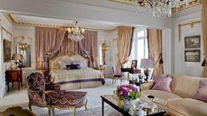 Hotel Plaza Athenee Paris Royal Suite bedroom