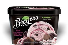 When we want a treat, we go for Breyer's natural flavors of ice cream. This one is a goodie!