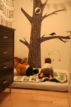 More Montessori bedroom fun!