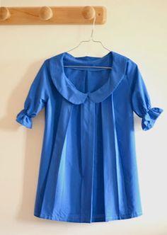 Tunique à plis , Patron couture gratuit
