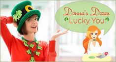Donna's Dozen: Lucky You -- One Dozen Free Knit and Crochet Patterns for St. Patrick's Day