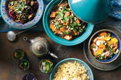 Moroccan mood (a menu for 6 from Good Taste magazine)