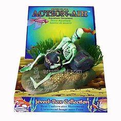 Amazon.com: Penn Plax Action Skeleton w/Jug Aquarium Ornament: Pet Supplies