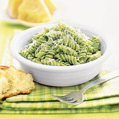 Pasta+with+Yogurt+Pesto+|+MyRecipes.com
