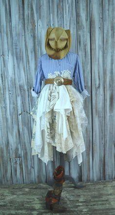 #Boho_dresses Shabby Easter Jacket Bohemian by TrueRebelClothing, $125.00