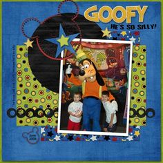 Goofy scrapbook-ideas