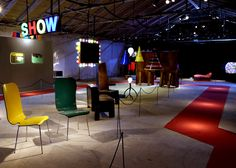"""Maarten Baas's solo show aimed to """"emphasise the circus that Milan is"""""""
