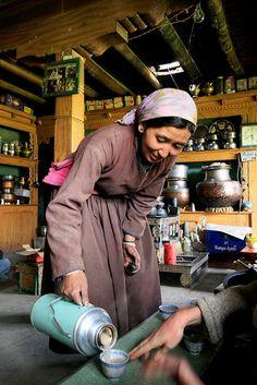cozy tea shop, Ladakh,India
