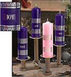 Adventus Collection - Pillar Candle Set