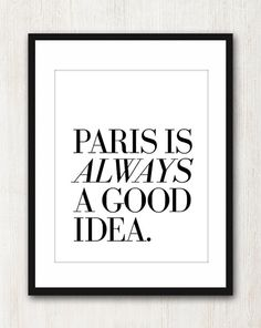A trip to Paris it is!