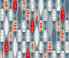 Hot Wax fabric by spellstone on Spoonflower - custom fabric