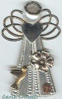 Pennies from Heaven Angel Pin - $21.95  http://www.carlasangels.com/pennies-from-heaven-angel-pin#