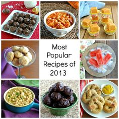 Celebrating the top eight recipes of the year from Vegan In The Freezer.