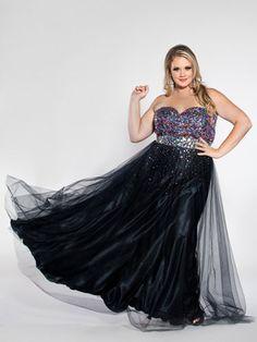Rainbow-Bodice Chiffon Dress