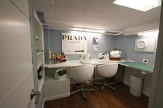 Basement (Lounge/Sewing Studio/Bedroom/Laundry Room) contemporary-basement
