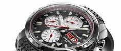 Chopard Mille Miglia 2013 Es un homenaje a la belleza de los automóviles clásicos en edición limitada con cronógrafo y doble huso horario.