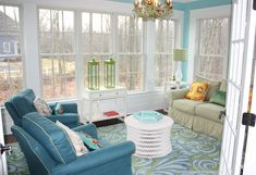 House of Turquoise: Vivid Hue Home