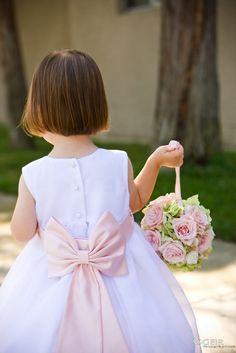 Flower girl pomander ball