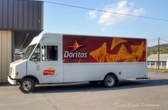 The Doritos Truck was Making a Delivery to the Dollar General Store in Elysburg, Pa.