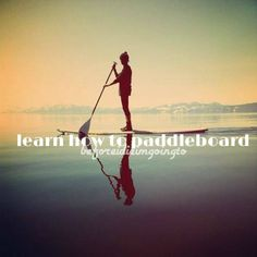 Learn How to Paddle board #SUP