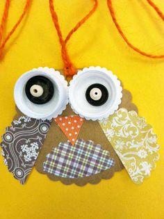 baby barn owl pendant
