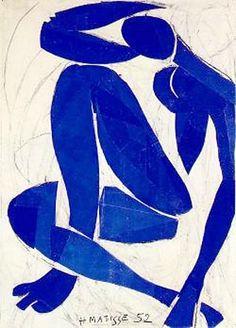 Blue Nude IV   (Nu Bleu IV) Matisse,Henri oil painting reproduction