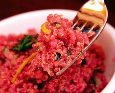 scarlet quinoa salad