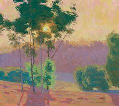 landscap art, artists, tree landscap, california, landscap paint, eric merrel, landscape art