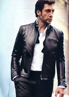 Javier Bardem  Mmmm…I love an older, lived-in looking guy. I mean pretty boys are ok to look at, but this dude is a Man. Capital M.
