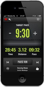 A Cruise Control for Running. An app that tweaks the beat of your music... controls your pace by altering your cadence.