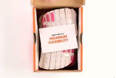 Nike Demonstrates Its Shoe Flexibility Packaging It Inside a Box 1/3 the Size - The Denver Egotist
