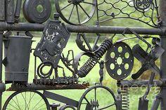 junk metal sculpture