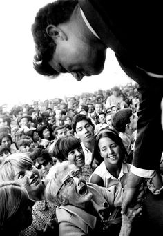 Robert F Kennedy wins over members of the public during his 1968 U.S. presidential campaign by Steve Schapiro