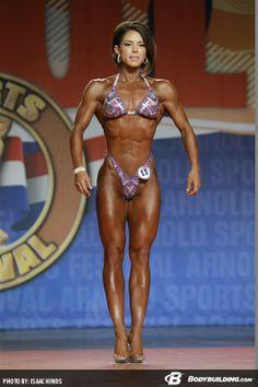 - Alicia Coates (2014 IFBB Arnold Classic)