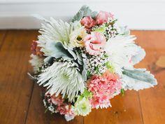 Beautiful pastel rustic flowers.