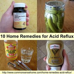 Home Remedies for Acid Reflux -10 quick fixes and long term solutions for GERD, or gastroesophageal reflux disease. Use the pantry instead o...