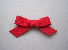 How to make little bows