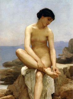 The Bather - William-Adolphe Bouguereau