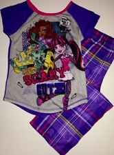 MONSTER HIGH GIRLS PAJAMAS SET NEW with tags SIZE 7/8 Sleepwear