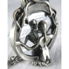 Mirror Lady Death Necklace
